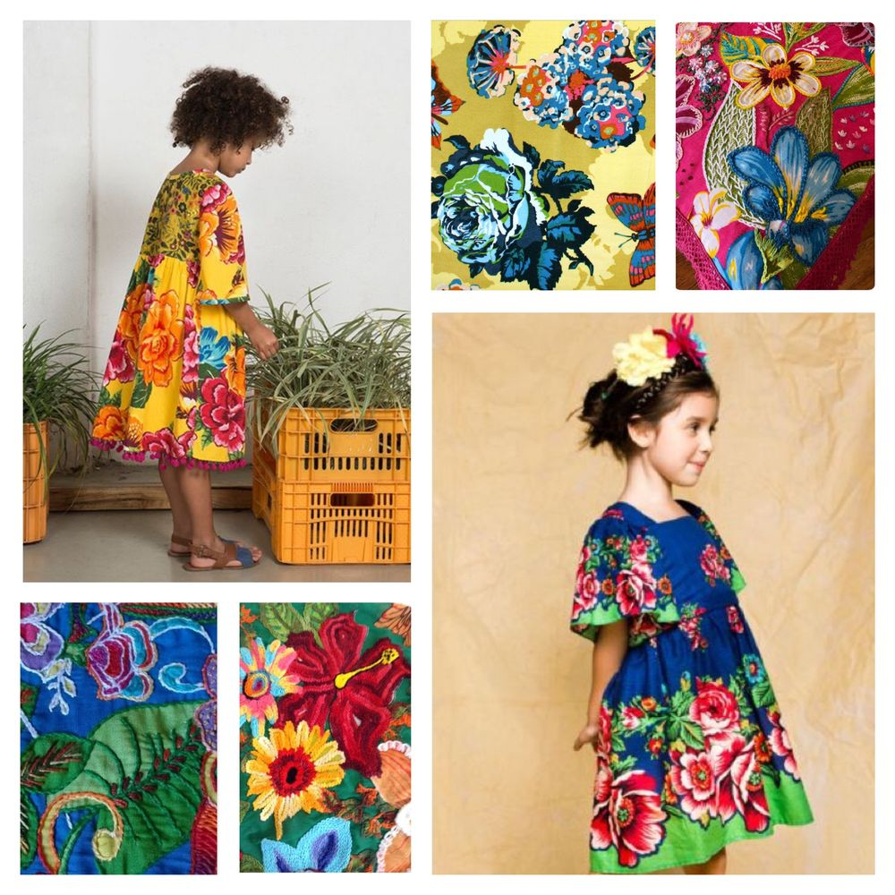 Райские сады бразильской вышивки