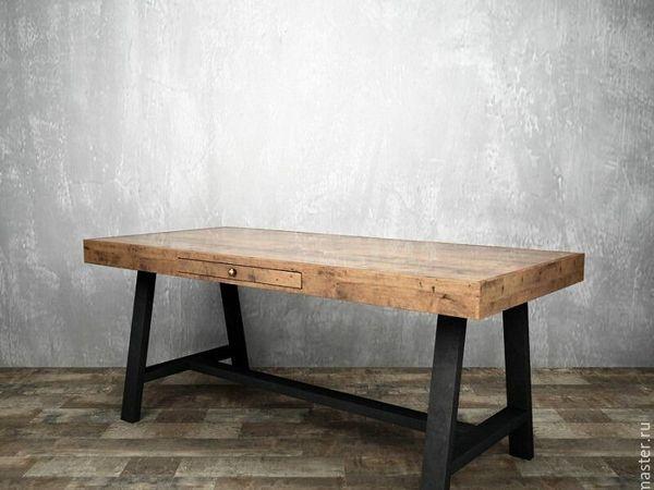 Стильный и надежный письменный стол арт882 - на Главной!! | Ярмарка Мастеров - ручная работа, handmade