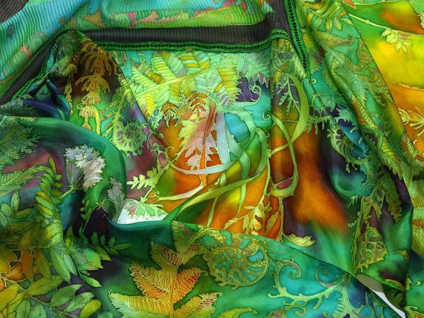 Мастер-класс по Батику ЧЕТВЕРГ 29 декабря 17-00. Холодный батик | Ярмарка Мастеров - ручная работа, handmade