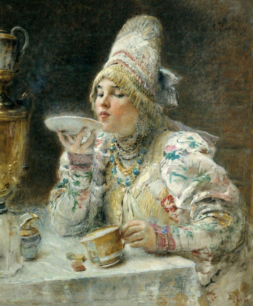 чай в живописи