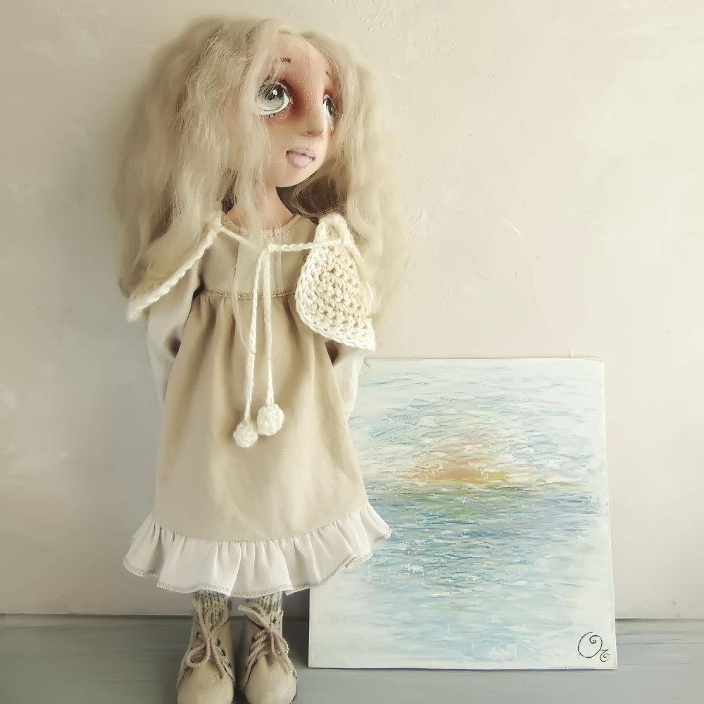 трикотажная куколка