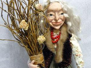 Кукла Баба-Яга из кабинета красоты | Ярмарка Мастеров - ручная работа, handmade