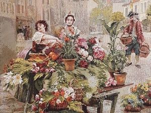 Парижские цветочницы — кто ваш создатель?. Ярмарка Мастеров - ручная работа, handmade.