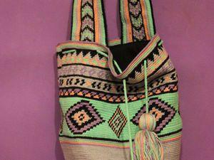 Яркие сумки крючком | Ярмарка Мастеров - ручная работа, handmade