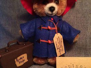 Медвежонок на выставке. Ярмарка Мастеров - ручная работа, handmade.