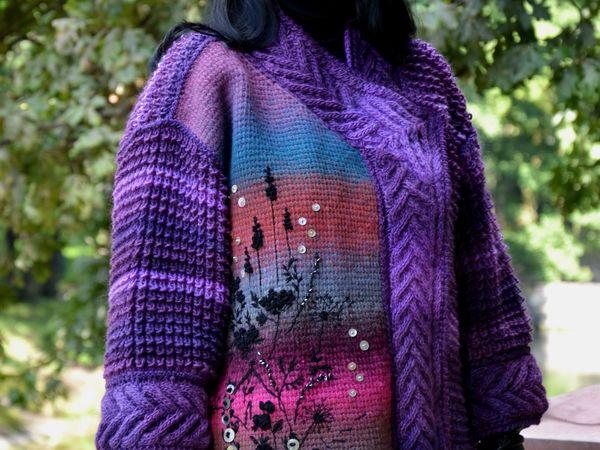 Цвет+араны+вышивка | Ярмарка Мастеров - ручная работа, handmade