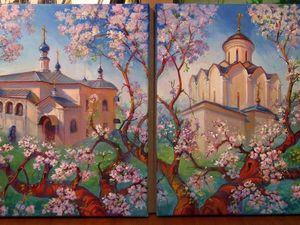 Цветущий сад Княгининского монастыря.. Ярмарка Мастеров - ручная работа, handmade.