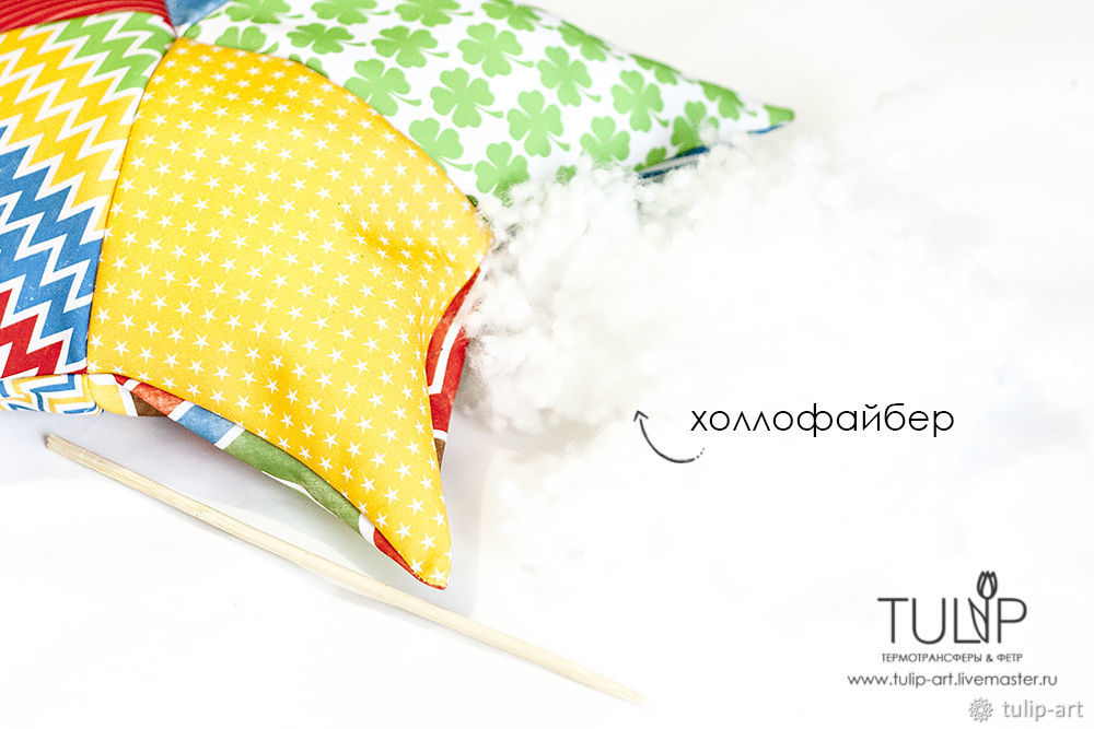 Sewing a Bright Star Pillow Quickly and Easily, фото № 13