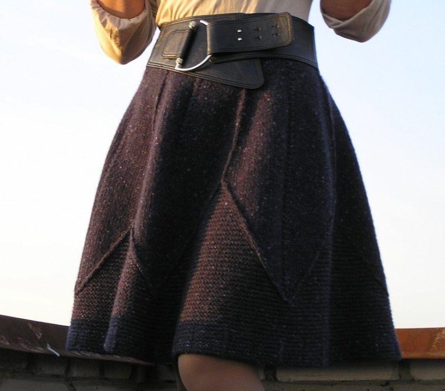 Вязанные юбки спб
