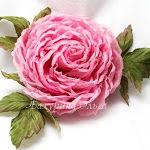 брошь-цветок, цветы из ткани, цветоделие, хризантема, мастер-класс, японские ткани