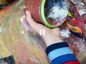 Хранение кистей и краски. Масляная живопись. Ярмарка Мастеров - ручная работа, handmade.