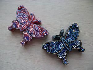 Бабочки   Ярмарка Мастеров - ручная работа, handmade