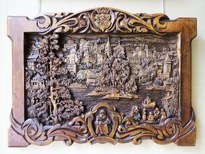 Миры из дерева: волшебные картины Кронида Гоголева. Ярмарка Мастеров - ручная работа, handmade.