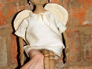 Мастер-класс для новичков: чердачная кукла-ангел Макарка. Вводная часть. Ярмарка Мастеров - ручная работа, handmade.