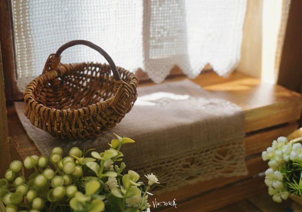 петушок, плетеная корзина