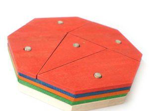 Пирамидка головоломка Восьмиугольник. Видео презентация   Ярмарка Мастеров - ручная работа, handmade