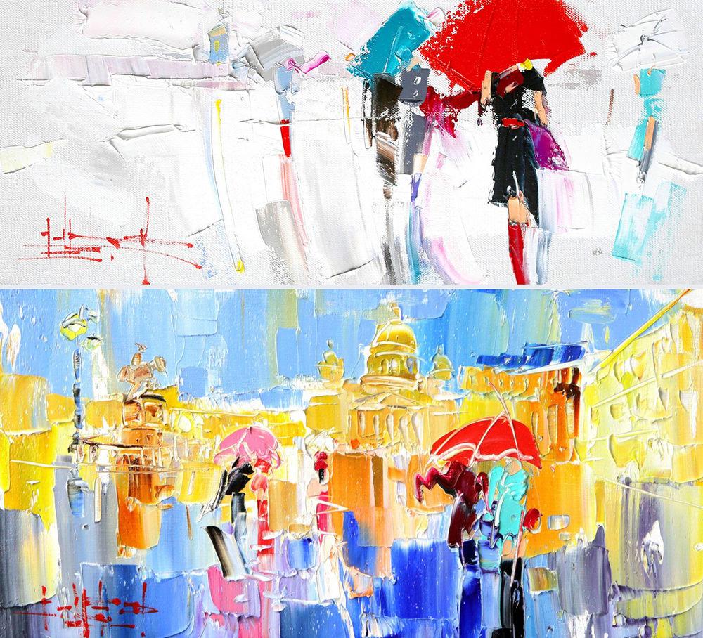 Konstantin Sukhopluev: Artist Painting Rain, фото № 4