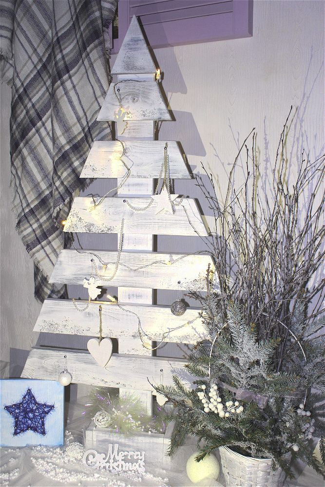 новогодний декор, идеи для дачи, состаривание предметов, украшение интерьера, праздник
