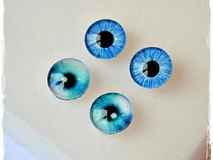 Glass Eyes for Toys with Your Own Hands. Livemaster - handmade