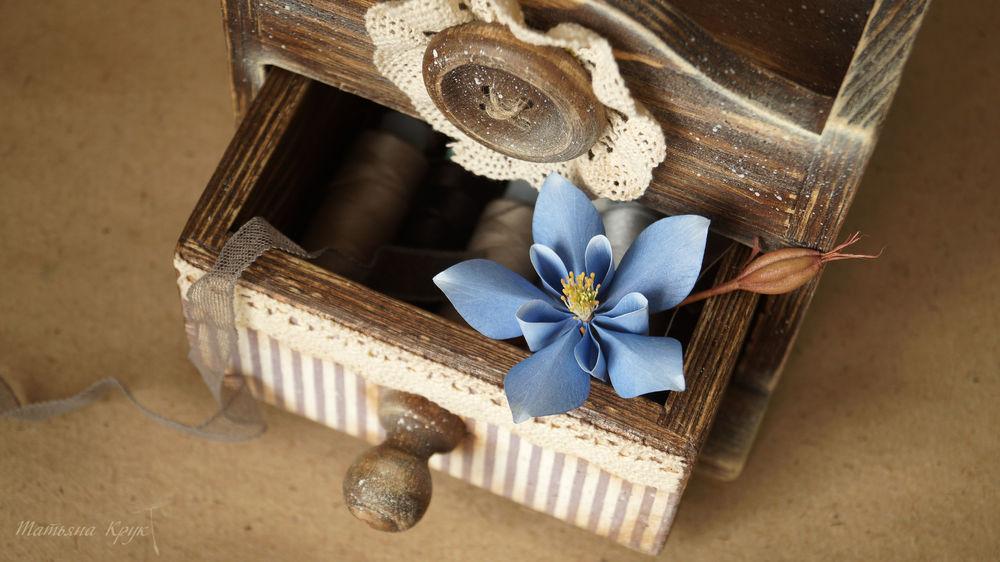 брошь цветок, брошь коробочка мака