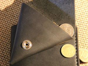 Видео мастер-класс: как сделать треугольную монетницу из кожи. Ярмарка Мастеров - ручная работа, handmade.