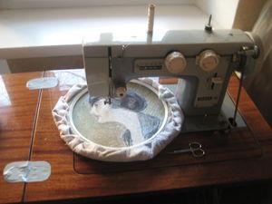 Видео мастер-класс по вышивке шелком на швейной машине «Чайка». Урок 2. Ярмарка Мастеров - ручная работа, handmade.