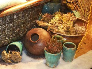 Мои травы и сухоцветы на витринах ЦУМА 2016.   Ярмарка Мастеров - ручная работа, handmade