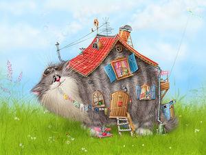 Распродажа готовых комплексов для кошек! 4 ковролиновых комплекса!. Ярмарка Мастеров - ручная работа, handmade.