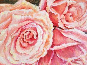 15% скидка на интерьерную картину — панно «Розовые грезы». Ярмарка Мастеров - ручная работа, handmade.