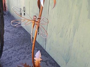 фонарь стрекоза на цветке. Ярмарка Мастеров - ручная работа, handmade.