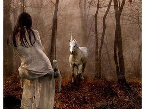 Прекрасный и загадочный Единорог. | Ярмарка Мастеров - ручная работа, handmade
