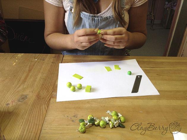 hand-made, мастер-класс по лепке