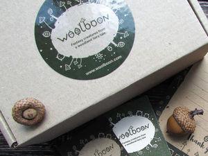 Логотип и фирменный стиль для Woolboon. Ярмарка Мастеров - ручная работа, handmade.