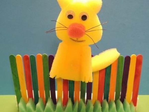Кукольный театр из поролона — играем вместе с детьми | Ярмарка Мастеров - ручная работа, handmade