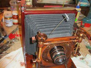 Как сделать гармошку-конус для ретро-фотоаппарата. Ярмарка Мастеров - ручная работа, handmade.
