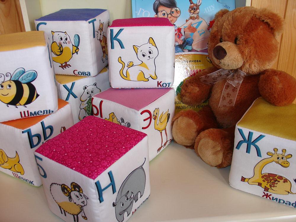 развивающие игрушки, кубик мягкий, алфавит