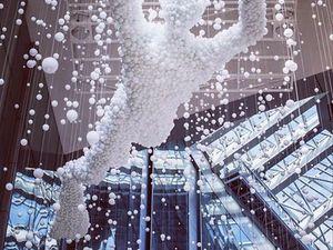 Великолепная оптическая инсталляция из стеклянных сфер Pearl Diver. Ярмарка Мастеров - ручная работа, handmade.