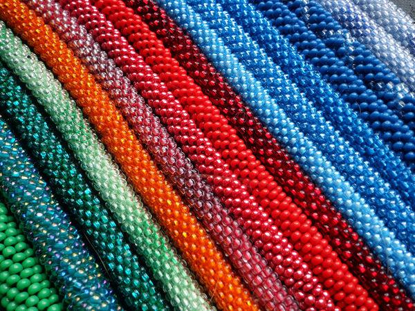 Аукцион на вязаные браслеты-жгуты - закрыт | Ярмарка Мастеров - ручная работа, handmade