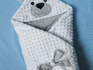 Акция! Одеялко на выписку Мишутка. Ярмарка Мастеров - ручная работа, handmade.
