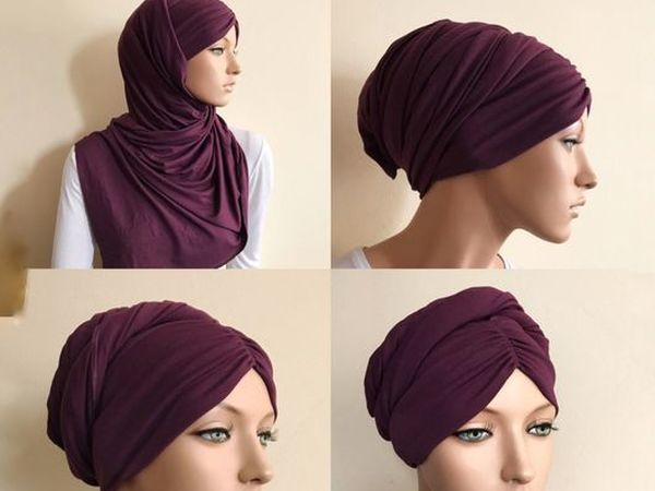 Тюрбан-чалма-хиджаб | Ярмарка Мастеров - ручная работа, handmade