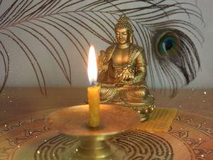 Стимуляция мозга путём созерцания пламени восковой свечи. Ярмарка Мастеров - ручная работа, handmade.