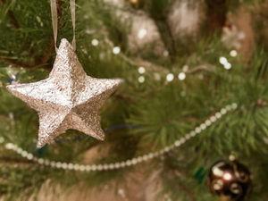 Мастерим объемную новогоднюю звезду из картона и фольги: видео мастер-класс. Ярмарка Мастеров - ручная работа, handmade.