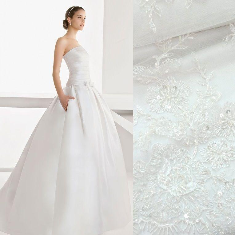 платье для свадьбы, вечернее платье, атлас, кружево
