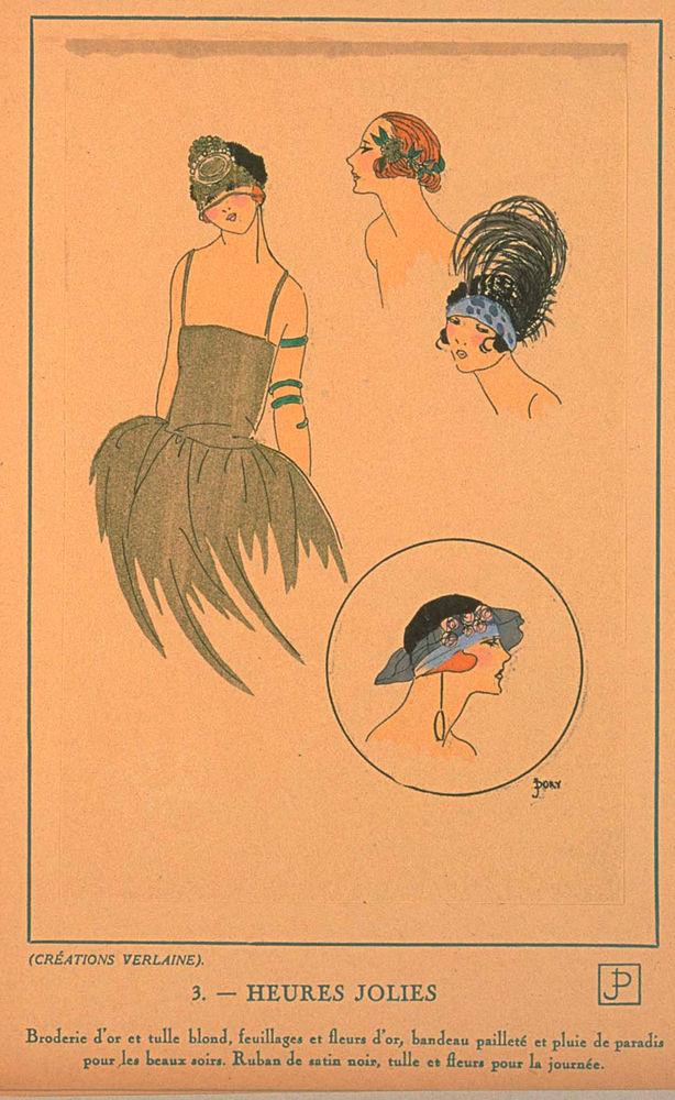 Ах, какие шляпки! Шляпная мода 1922 года по версии французского журнала «Les chapeaux du Tres parisien». Часть 2, фото № 5