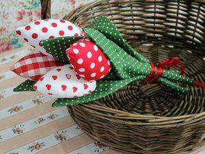 Тюльпаны к 14 февраля и 8 марта! | Ярмарка Мастеров - ручная работа, handmade