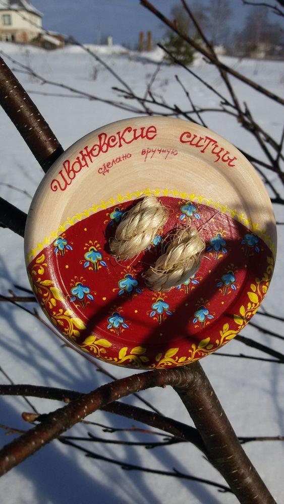 пуговица с росписью, ивановские ситцы