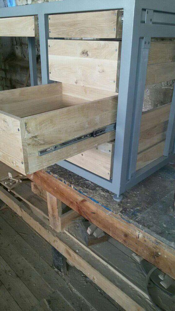 рабочий стол, индустриальный стиль, купить мебель лофт, индустриальный лофт
