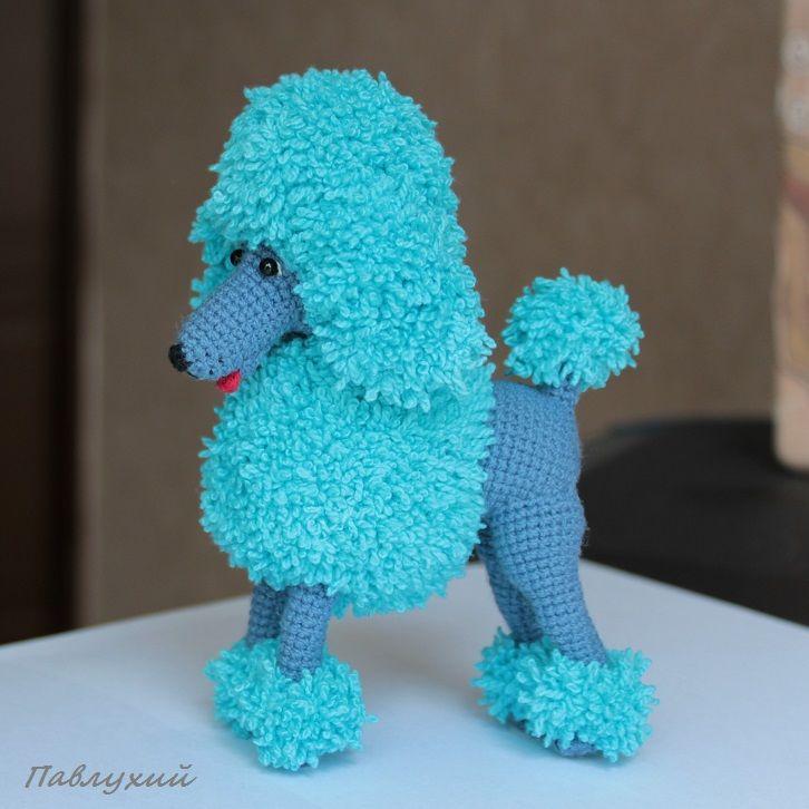 пудель, pavlukhii, собака вязаная, пудель собака, сувенирная собака, магазин игрушек, сувенирный пудель