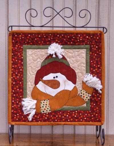 Christmas Applique Patterns | Christmas, Snow, & Winter Applique Patterns - Erica's Craft & Sewing ...