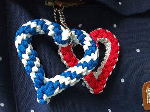 Плетём сердечки из шнурков. Ярмарка Мастеров - ручная работа, handmade.